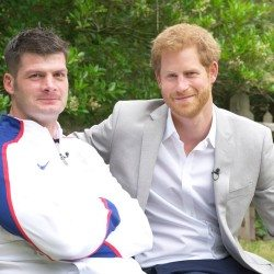 Prince Harry shows support for World Para Athletics Championships