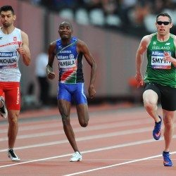 Jason Smyth completes world sprint double in London