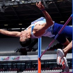 Jonathan Broom-Edwards secures high jump silver in London