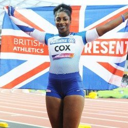 Kadeena Cox wins world gold in London
