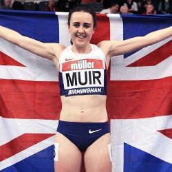 Laura Muir eyes British mile record before World Championships double