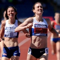 Laura Weightman among winners on day of thrills and spills at British trials