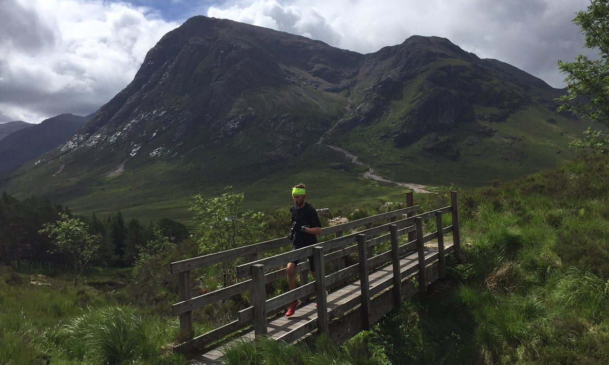 West Highland Way: Rob Sinclair is setting new standards