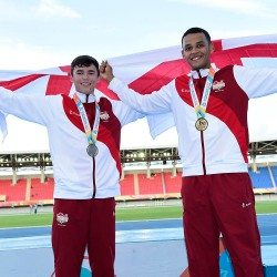 Sam Bennett leads England 1-2 at Commonwealth Youth Games