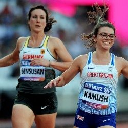 Sophie Kamlish and Hannah Cockroft win world titles in London