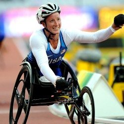 Tatyana McFadden wins fourth London 2017 gold