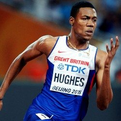 Zharnel Hughes ready to go for gold at Commonwealth Games