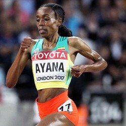 Almaz Ayana destroys opposition to take world 10,000m title