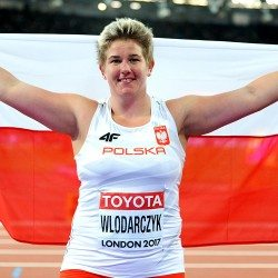 Anita Wlodarczyk maintains dominance for third world hammer title