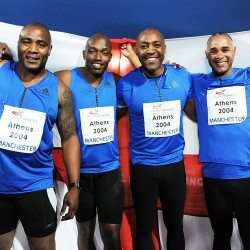 Relay heroes roll back the years at Manchester International