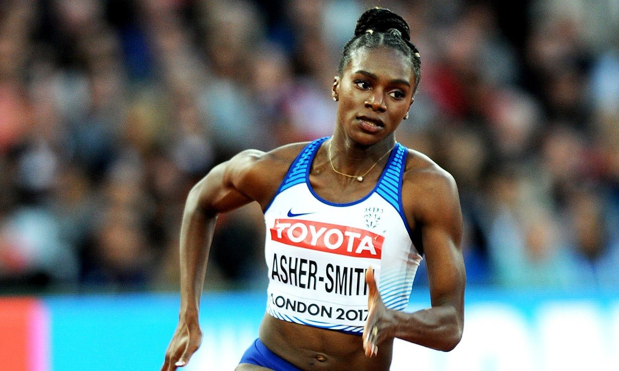 Dina Asher-Smith's determination