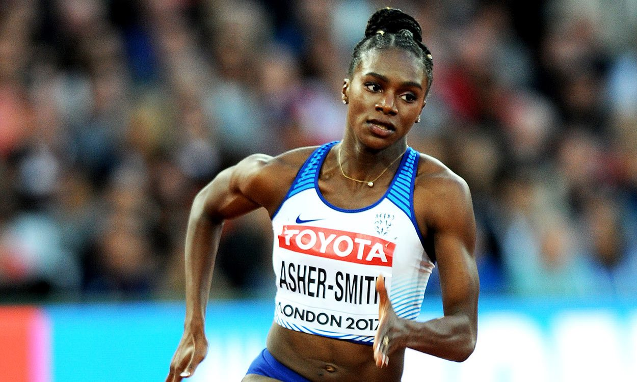 My injury has made me stronger, says Dina Asher-Smith