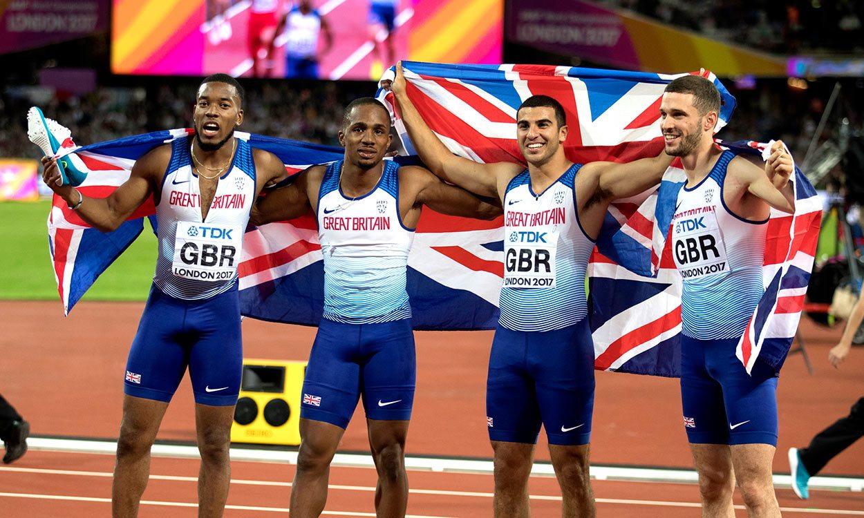 Behind the scenes of Great Britain's golden relay