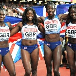 GB women's 4x100m team keen to keep proving progress