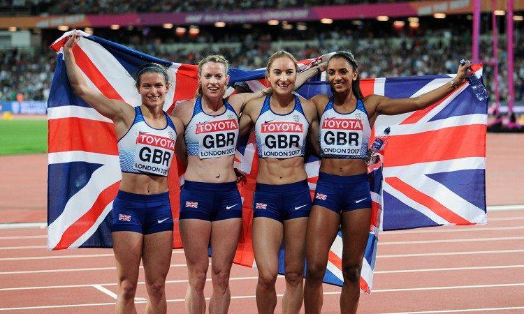 GB-4x400-relay-women-London-2017-by-Mark-Shearman