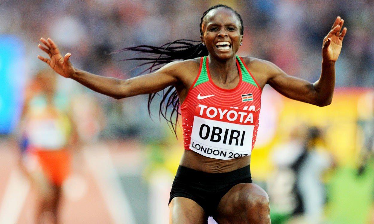 Hellen Obiri outkicks Almaz Ayana to finish on top of the world