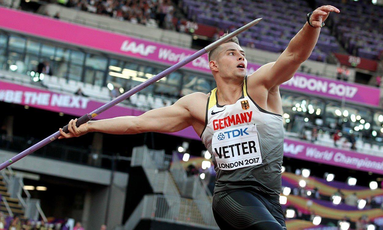 Johannes Vetter and Katerina Stefanidi win European Athletics awards