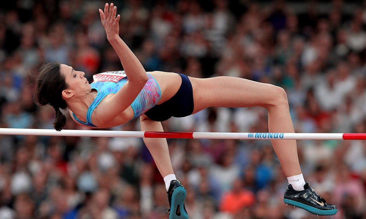 Maria Lasitskene plays down IAAF award chances after golden summer