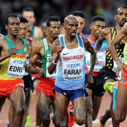 Mo Farah looks to bow out in full voice