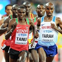 Mo Farah on the 10,000m 'team' tactics that couldn't take him down