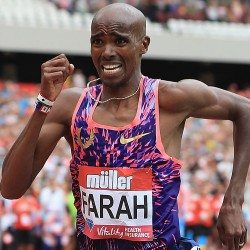 Farah farewell at Birmingham