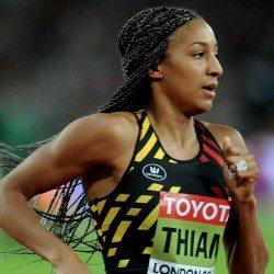 Nafissatou Thiam rises to the occasion to win world heptathlon gold
