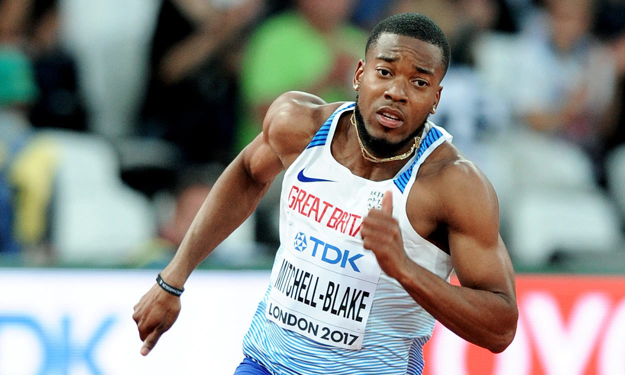 Nethaneel Mitchell-Blake eyes more individual success after global relay gold