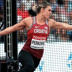 Sandra Perkovic regains world discus title