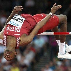 Mutaz Essa Barshim wins world high jump gold