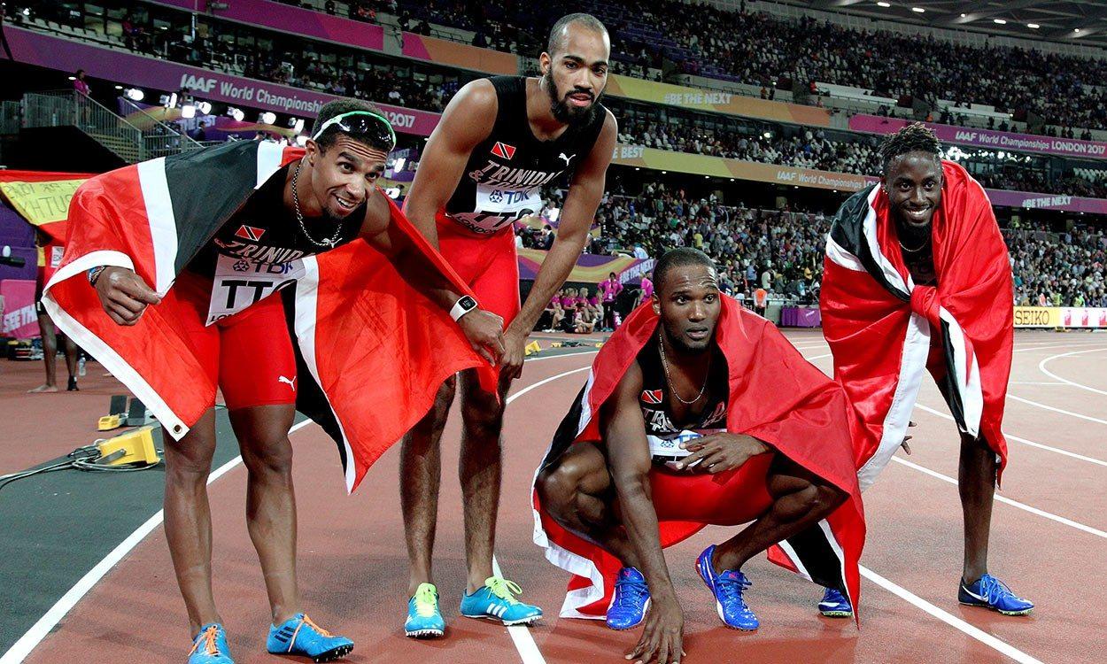 Trinidad shock US as GB grab bronze in World Champs men's 4x400m