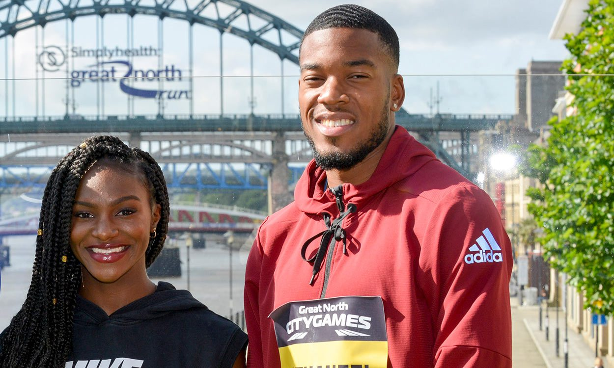 Nethaneel Mitchell-Blake and Dina Asher-Smith set for 150m showdowns