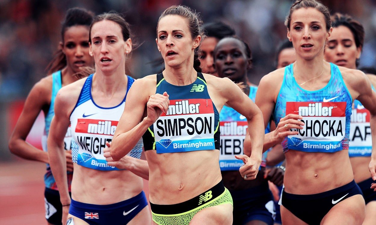 Jenny Simpson's 'old-school' training