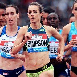 Jenny Simpson's 'old-school' training