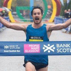 Chris Thompson charges to Great Scottish Run win