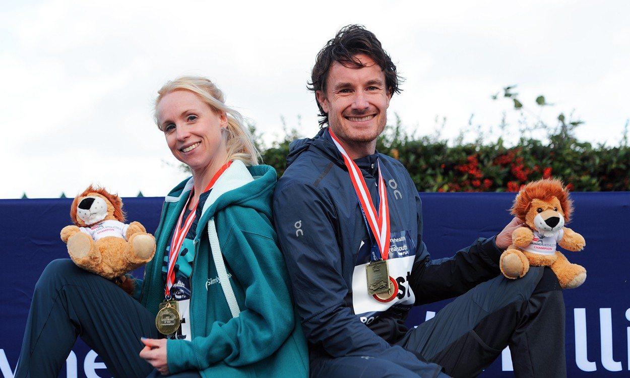 Gemma Steel and Chris Thompson win Great South Run