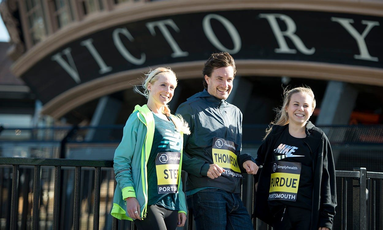 Chris Thompson gets set to defend Great South Run title