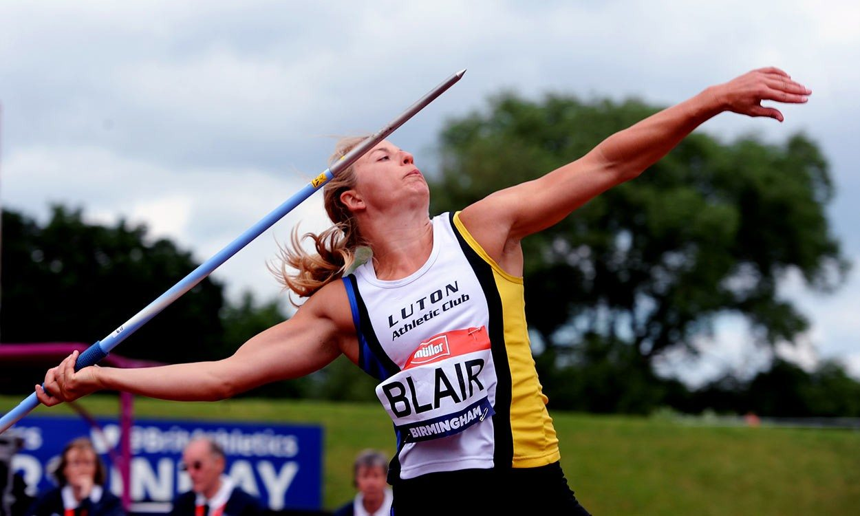 Javelin thrower Joanna Blair provisionally suspended after doping violation