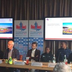 Athletes ready for TCS Amsterdam Marathon