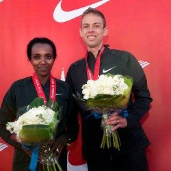 Galen Rupp and Tirunesh Dibaba win Chicago Marathon