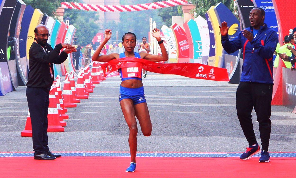 Almaz Ayana wins in Delhi on half-marathon debut - weekly round-up