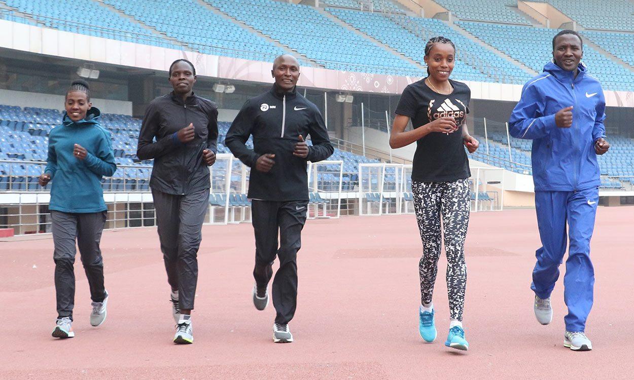 Geoffrey Kirui and Almaz Ayana predict fast times at Airtel Delhi Half Marathon