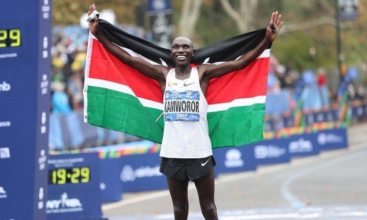Geoffrey-Kamworor-NY-Marathon-by-NYRR