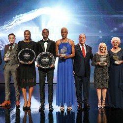 Nafissatou Thiam and Mutaz Essa Barshim named 2017 IAAF world athletes of the year
