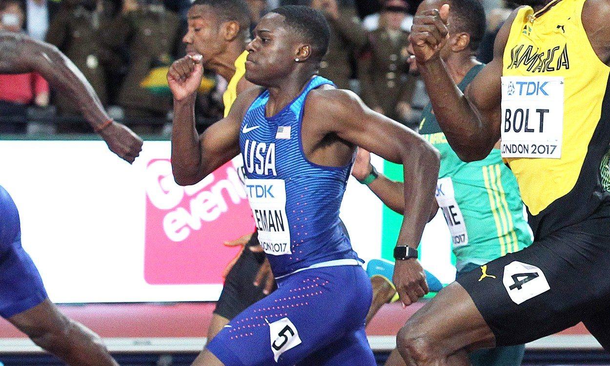 Christian Coleman breaks world indoor 60m record