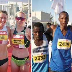Gemma Steel, Chris Thompson and Eilish McColgan impress in Doha