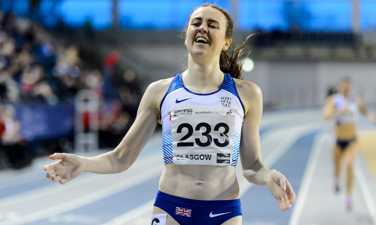 Laura Muir's double medal bid hasn't been dented by her double life