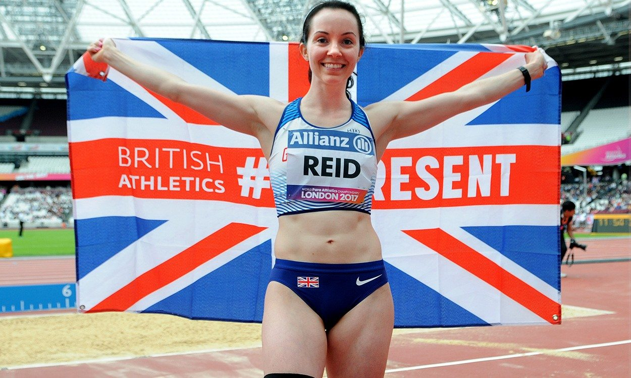 Stef Reid reflects on British Champs