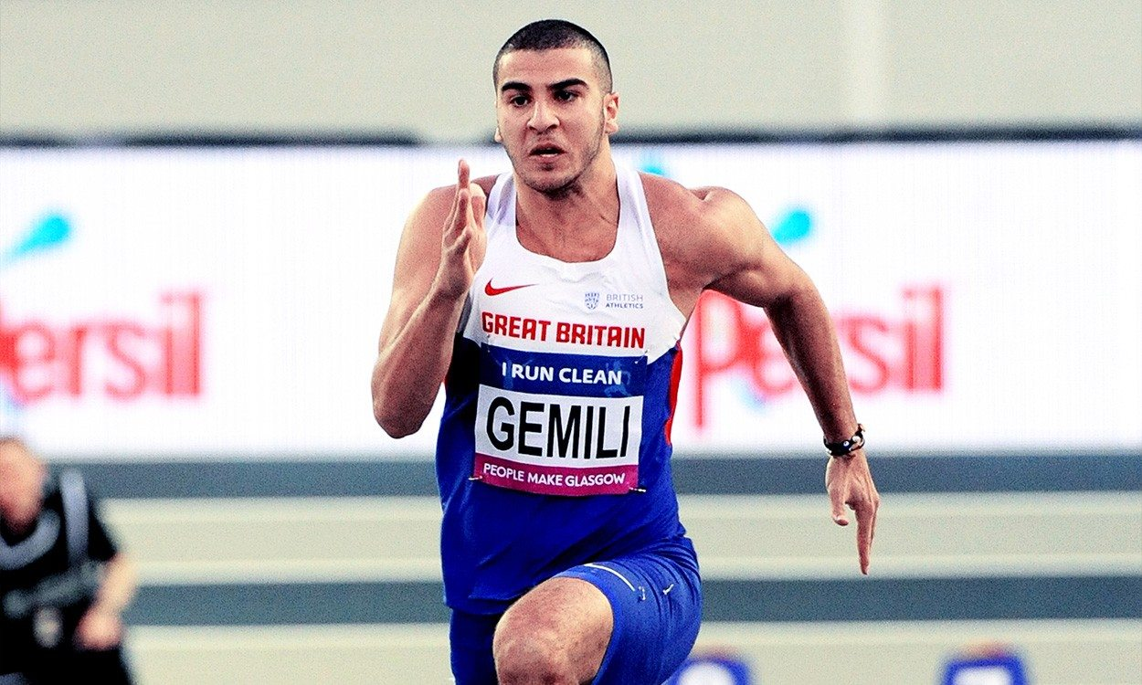 Adam Gemili excited for Glasgow 60m test