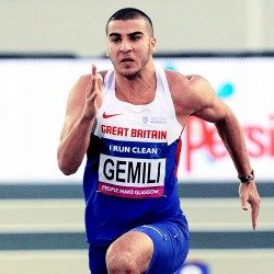 Adam Gemili excited for Glasgow 60m test