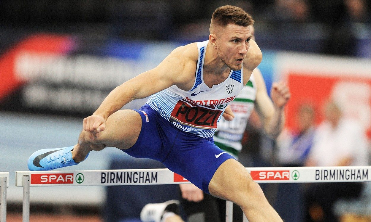Andrew Pozzi is back in Birmingham with a medal in mind